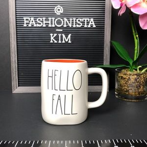 NEW RAE DUNN HELLO FALL mug